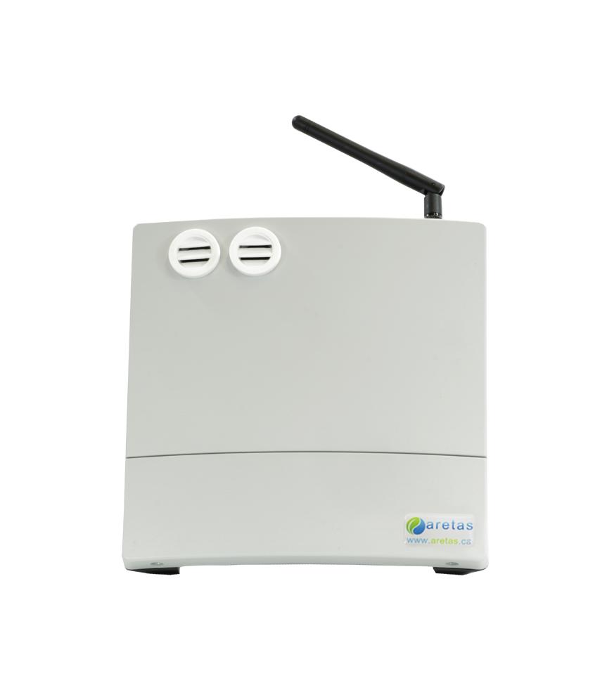 Humidity Monitoring System : Trh temperature and humidity monitoring aretas sensor